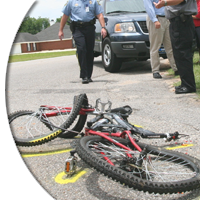 Thousands of bicyclists are killed or seriously injured in motor vehicle accidents each year.